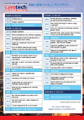 Cemtech ASIA 2016 Manila Cement Conference Speaker Programme
