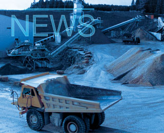 Lafarge Dunbar receives quarry equipment, UK