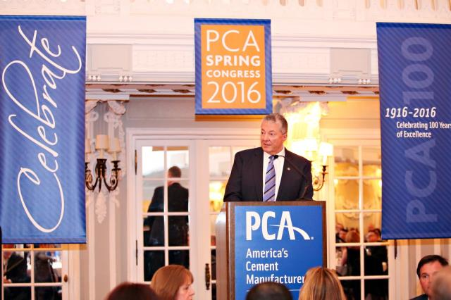 James Toscas, PCA President and CEO, speaking earlier this year at the PCA's Spring Congress  James Toscas, PCA President and CEO, speaking earlier this year at the PCA's Spring Congress