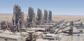 Figure 1: Egyptian Cement Co plant (Ain El Soukhna, Egypt) from line 1 to 5 in  less than 10 years