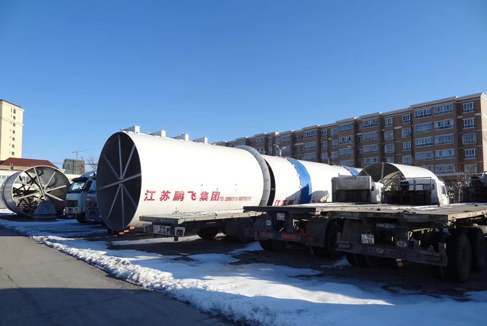 Equipment leaves China and heads for Alasim Cement in Kzakhstan