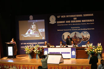 Main speaker stage at the NCB's 13th International Seminar