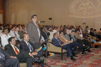 Questions from the floor during the 12th NCB International Seminar